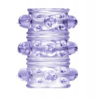 Фиолетовая насадка на пенис Rings Armour