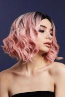 Нежно-розовый парик  Кортни
