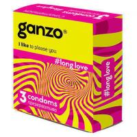 Презервативы Ganzo Long Love №3 с анестетиком