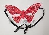 Маска 4sexdream бабочка, красная
