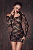 Сорочка Anais Lynette, Чёрный, XL